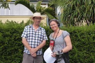 Interview: decriminalising footpath gardening with Terri Begley and Spencer Howsen's ABC 612 Breakfast Show