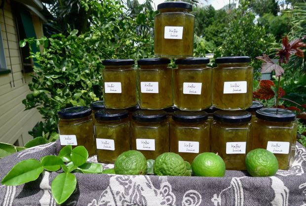 Three cheers for the Kaffir Lime!
