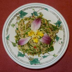 King's salad, or vua rau xà lách.
