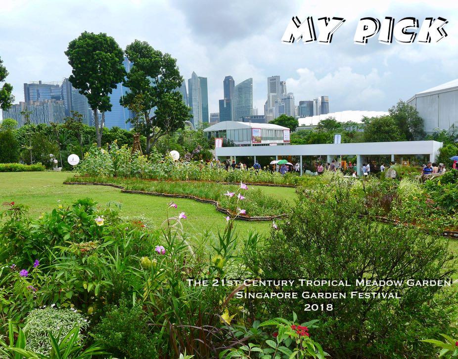 21st Century Tropical Meadow Garden, Singapore Garden Festival, 2018