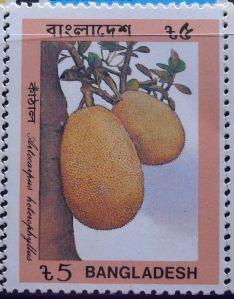 Bangladeshi stamps, Jackfruit, Artocarpus heterophyllus