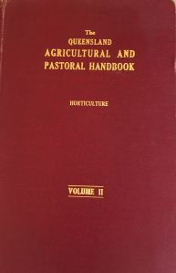 Queensland agricultural pastoral handbook 1940